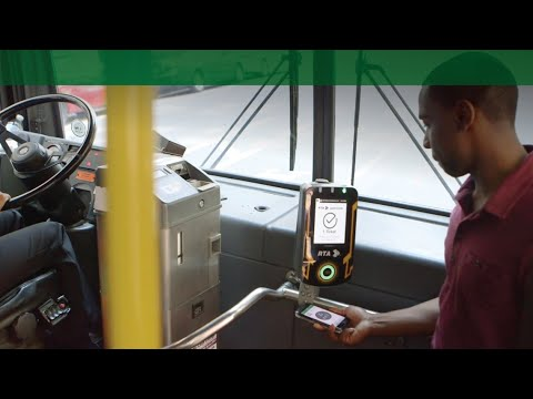 RTA GoMobile - Using a Mobile Ticket When Boarding