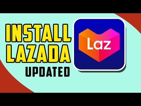 HOW TO INSTALL LAZADA APPLICATION  | TAGALOG