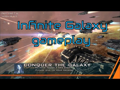 new android games 2020 - Infinite Galaxy - gameplay