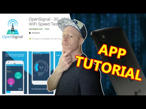 OPEN SIGNAL APP TUTORIAL AND OVERVIEW! TEST CELLPHONE SPEED, LOCATE TOWERS, & MORE! ANDROID APP