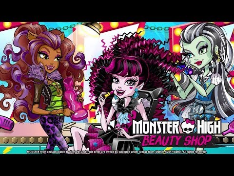 Monster High Beauty Shop: Fangtastic Fashion Game Crazy Labs Android gameplay Movie apps free