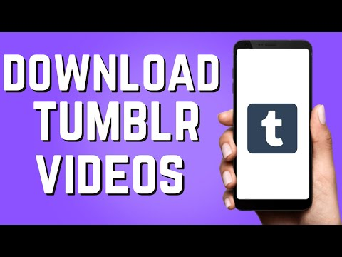 How to Download Tumblr Videos on Android! (Easy 2021)
