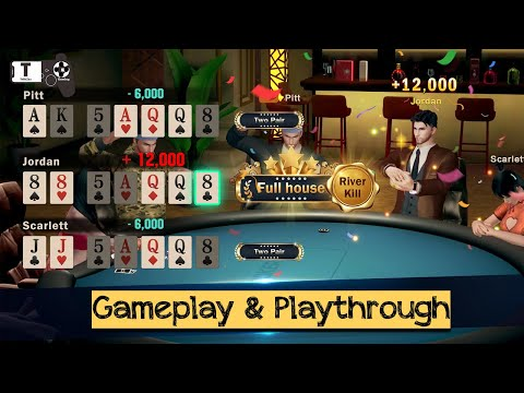 Hi Poker 3D:Texas Holdem - Android / iOS Gameplay