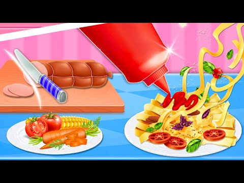 Pasta Cooking Mania NEW Kitchen Game | Android Gameplay, Review