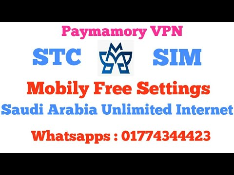 STC SIM TV Packers All New Settings / Saudi Arabia Unlimited Internet Free