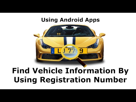 How to Know Information and  Owner Name of Vehicle  Using Android App