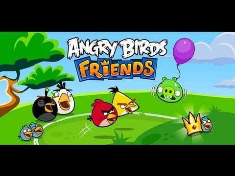 Angry Birds Friends Android App Review  - CrazyMikesapps