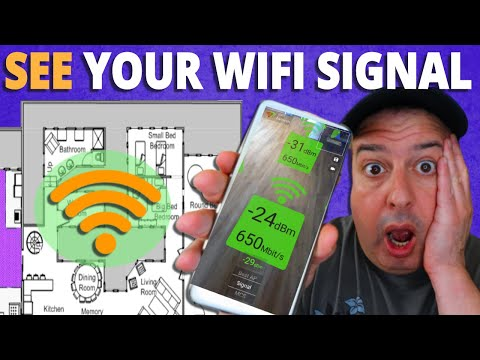 SEE your WiFi Signal Strength with this FREE app!