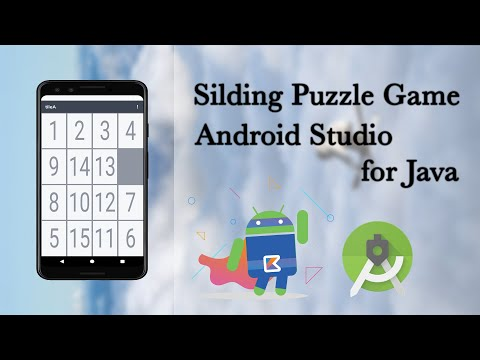 Let's make a simple sliding puzzle number game with Android Studio Java.