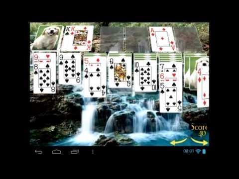 video review of Solitaire 3D