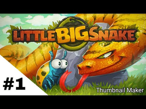 Little Big Snake Android gameplay #1