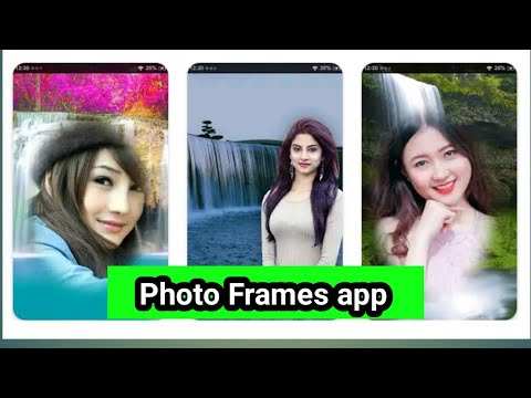 New app for Android|| Waterfall photo editor & photo Frames|| Photo Frames app 2020||