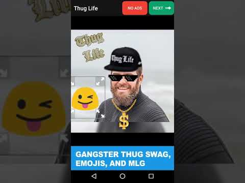 video review of Thug Life Stickers