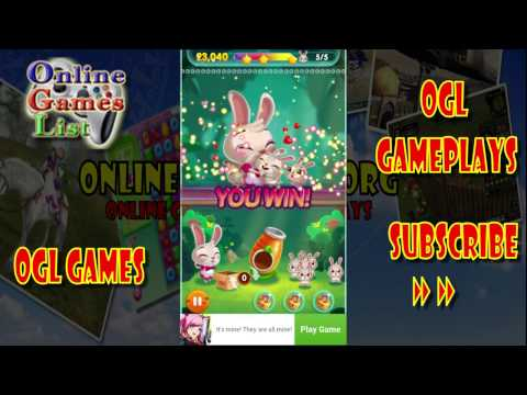 Bunny Pop Android gameplay first look