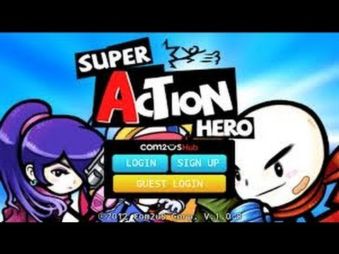 Super Action Hero Android HD GamePlay