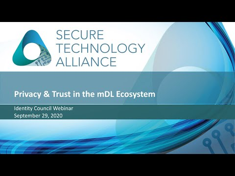 The Mobile Driver's License and Ecosystem: Privacy and Trust in the mDL Ecosystem