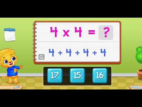 Multiplication Kids - Multiply Math Games!!!