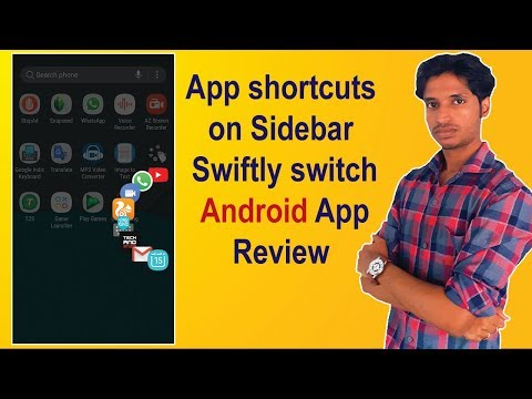 App shortcuts on Sidebar   Swiftly switch App Review   Tech And Studio