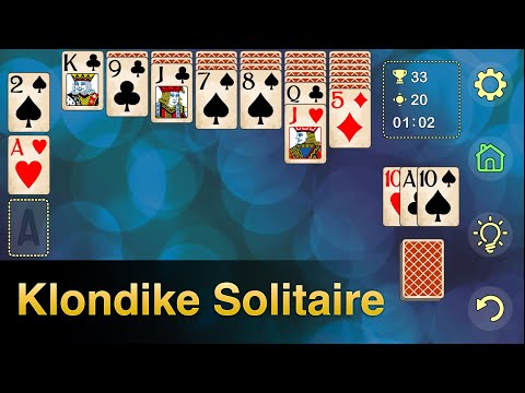 video review of Solitaire Klondike