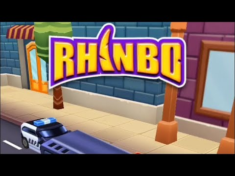 Rhinbo - Endless Runner Game Android/ios Gameplay video