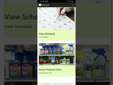 How to install and use FarmGrow Android App