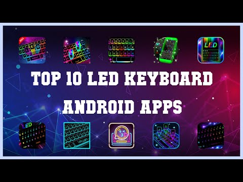 Top 10 LED Keyboard Android App   Review