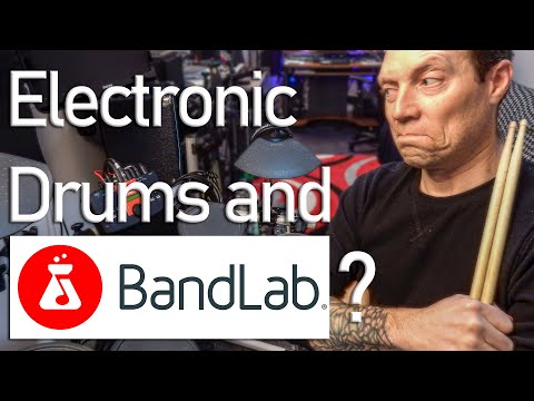 Electronic Drums in BandLab Android and iOS | Test Demo