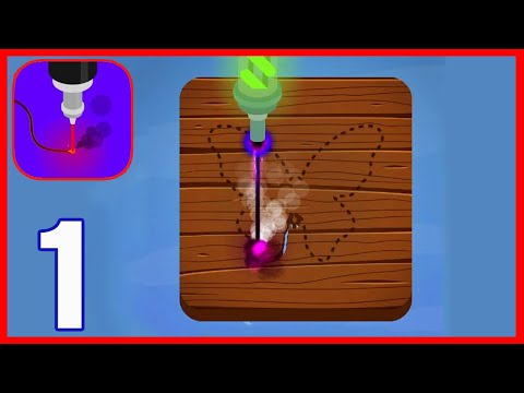Laser Cutting - Gameplay Walkthrough Part 1 - Levels 1-15 (Android,iOS)