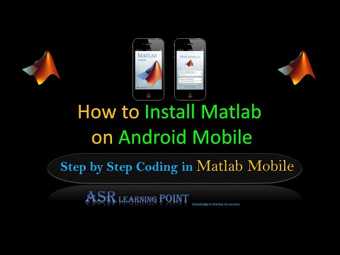 Matlab Mobile - How to install and use Matlab on your Android mobile