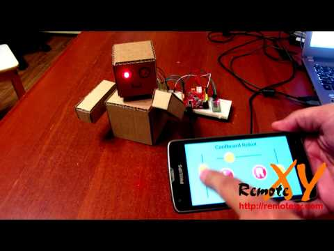 video review of RemoteXY: Arduino control