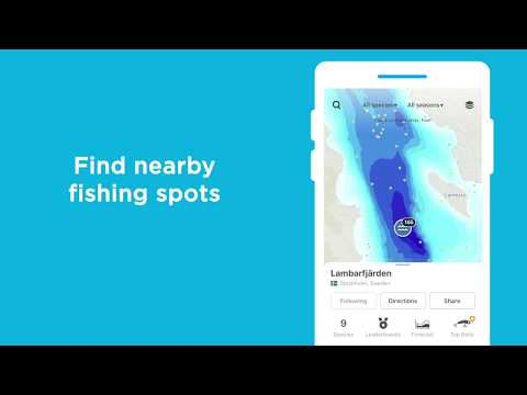 video review of Fishbrain