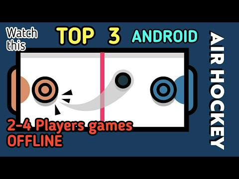 Top 3 Android ( MULTIPLAYER ) 2-Player games OFFLINE