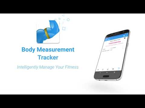 video review of Body Measurement, Body Fat and Weight Loss Tracker