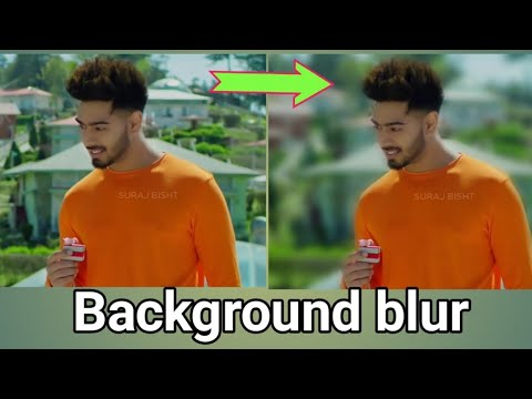 Photo Blur Background In Android Mobile। Colour effect app 2021