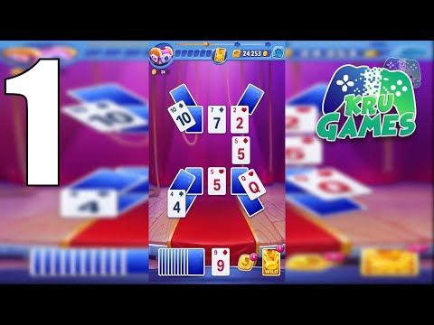 Solitaire Showtime: Tri Peaks Solitaire Free & Fun Gameplay Walkthrough #1 (Android, IOS)
