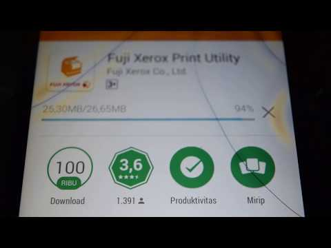 Fuji Xerox DocuPrint 115W Install Driver Print Mobile Android and IOS Tutorial