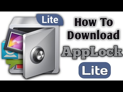How To Download AppLock Lite On Android Mobile