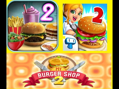 KEEP SERVING | OPEN | MY BURGER SHOP 2 | MOBILE GAMEPLAY | HD