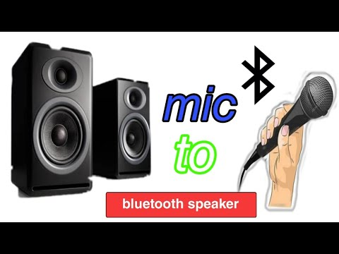 Use Smartphone as a MIC and Bluetooth Speaker as a LOUD SPEAKER   For android 2020