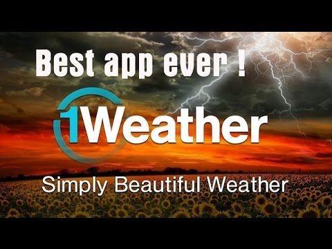 Cool and best weather app ever | Android | 1weather app