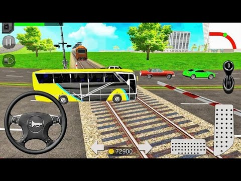 Euro Coach Bus Simulator Games #Luxury Coach Bus Driving #Bus Games Android GamePlay