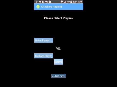 Checkers Android App Demo