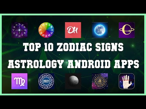 Top 10 Zodiac Signs Astrology Android App   Review
