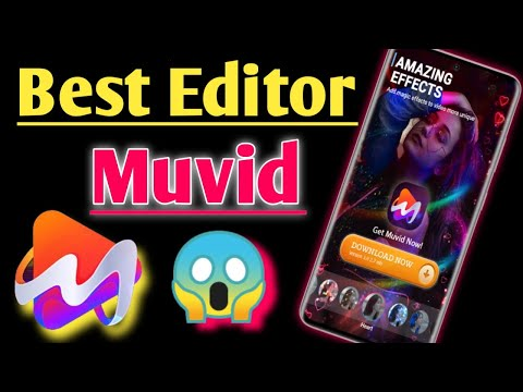 Muvid  Music Video Maker App | Best Video Editor For Android | Video Maker App