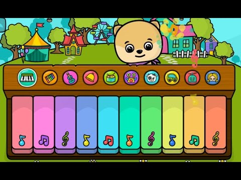 PIANO And Music Pretty Sounds To Attract Babies Toddlers Kids Review