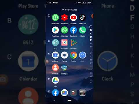 How to hide an app in your device