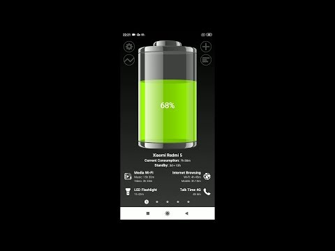 Battery HD Pro (by smallte.ch) - battery monitor app for Android and iOS.