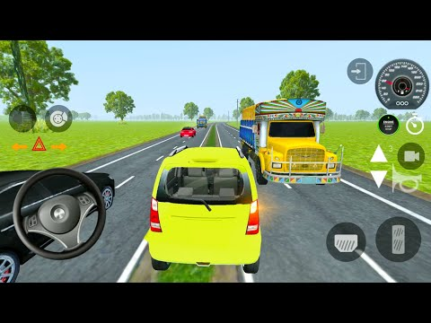Indian Cars Simulator 3D - White Hatchback: Drive to Village - Android Gameplay