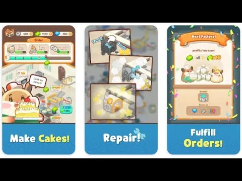 Hamster's Cake Factory - Idle Baking Manager game
