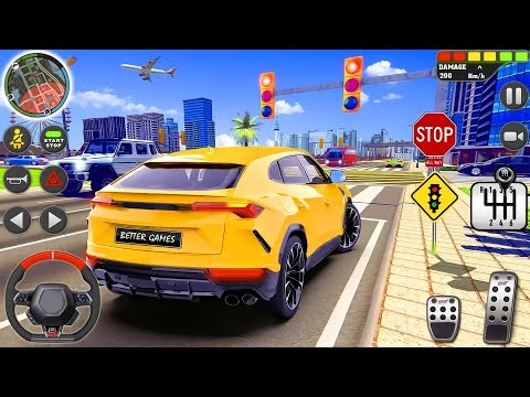 City Driving School Simulator - 3D Sports Car Parking 2019 | Android Gameplay